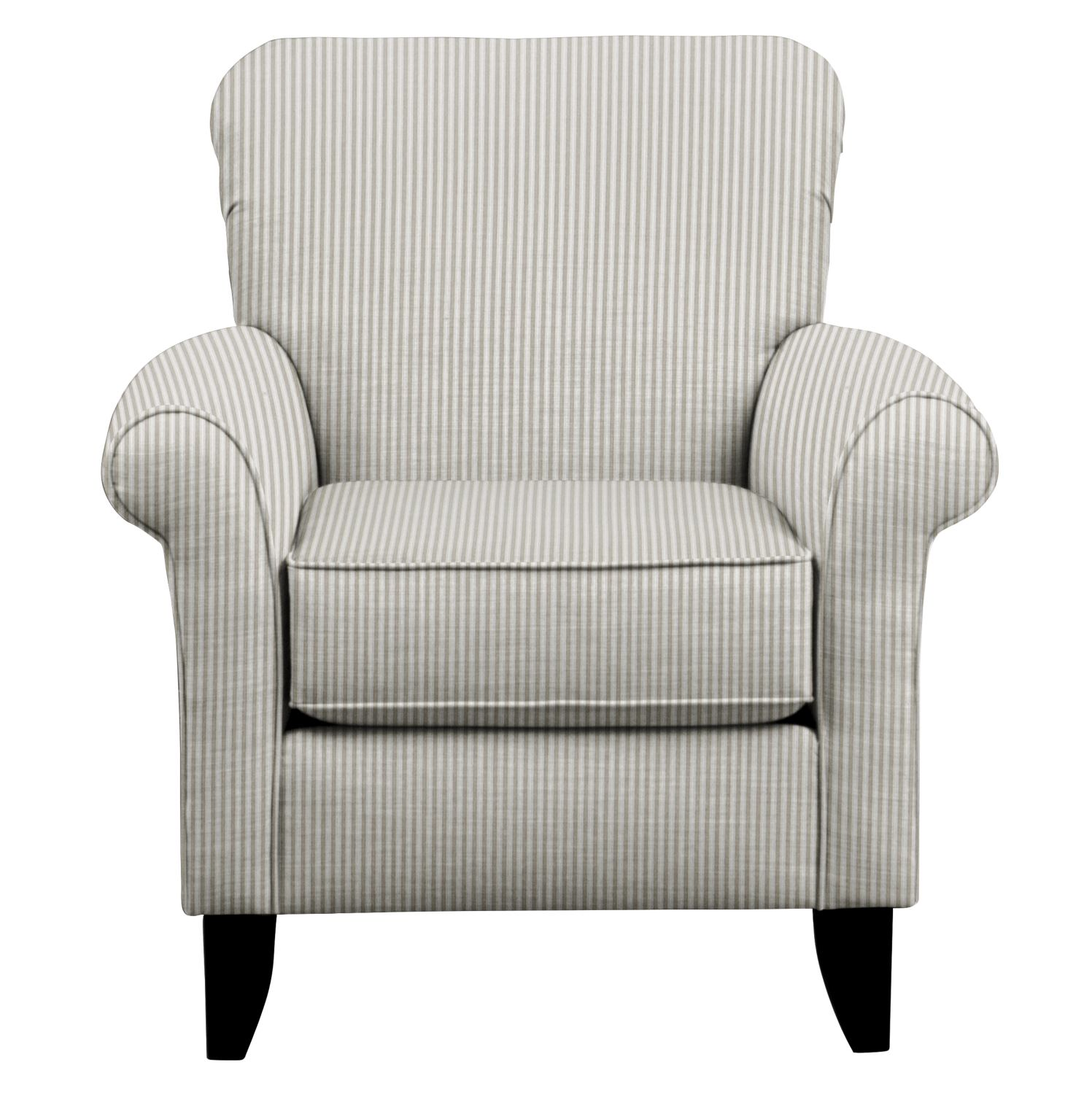 Tracy Chair w/ Polo Storm Fabric