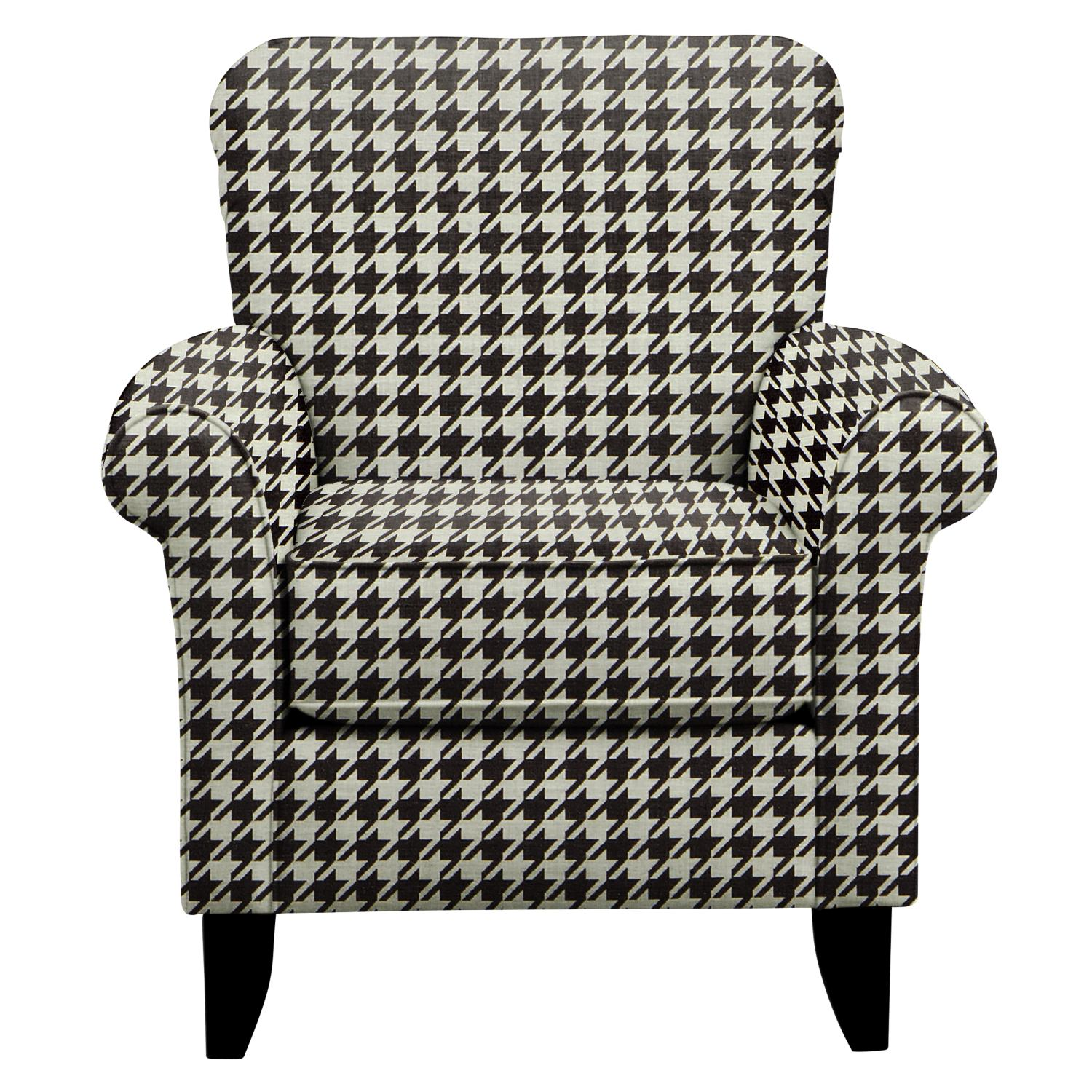 Living Room Furniture - Tracy Chair w/ Watson Tuxedo Fabric