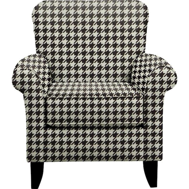 Living Room Furniture - Tracy Chair w/ Watson Tuxedo Fabric