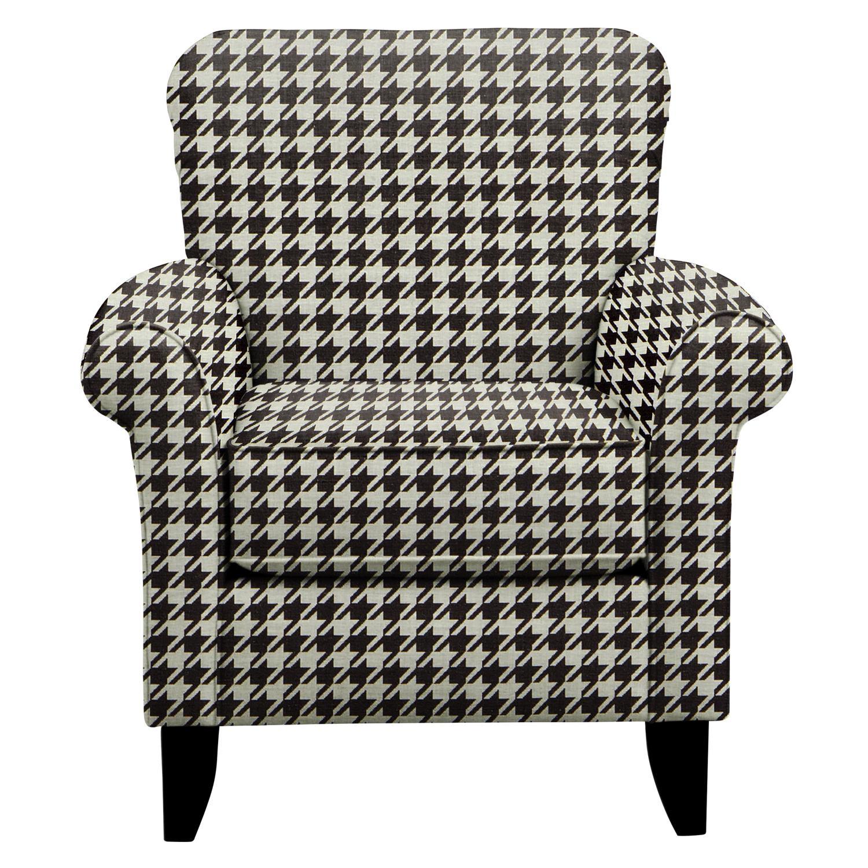 Living Room Furniture   Tracy Chair W/ Watson Tuxedo Fabric
