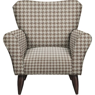 Jessie Chair w/ Watson Putty Fabric