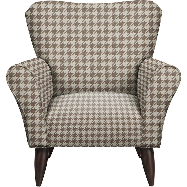 Living Room Furniture - Jessie Chair w/ Watson Putty Fabric