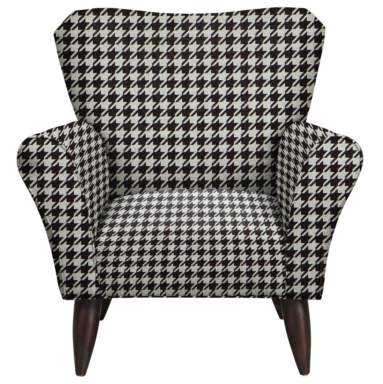 Living Room Furniture - Jessie Chair w/ Watson Tuxedo Fabric
