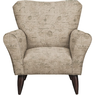 Jessie Chair w/ Seine Gray Fabric