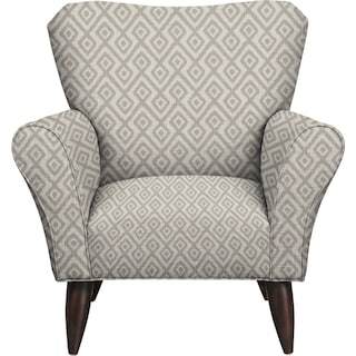 Jessie Chair w/ Tate Dove Fabric