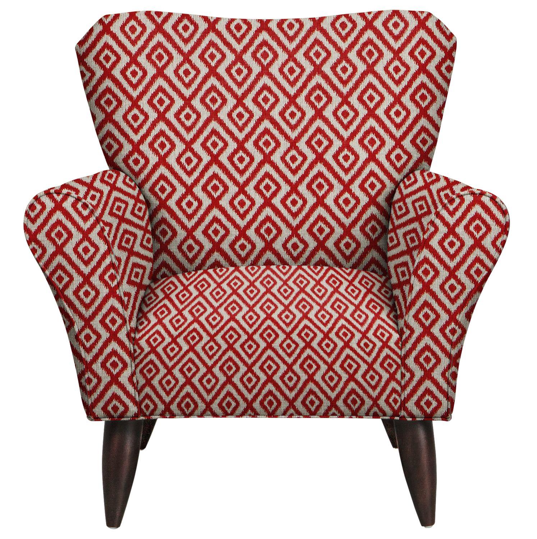 Jessie Chair w/ Tate Red Fabric