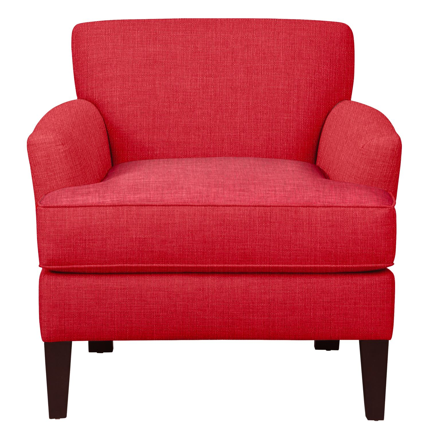 Living Room Furniture - Marcus Chair w/ Depalma Cherry Fabric