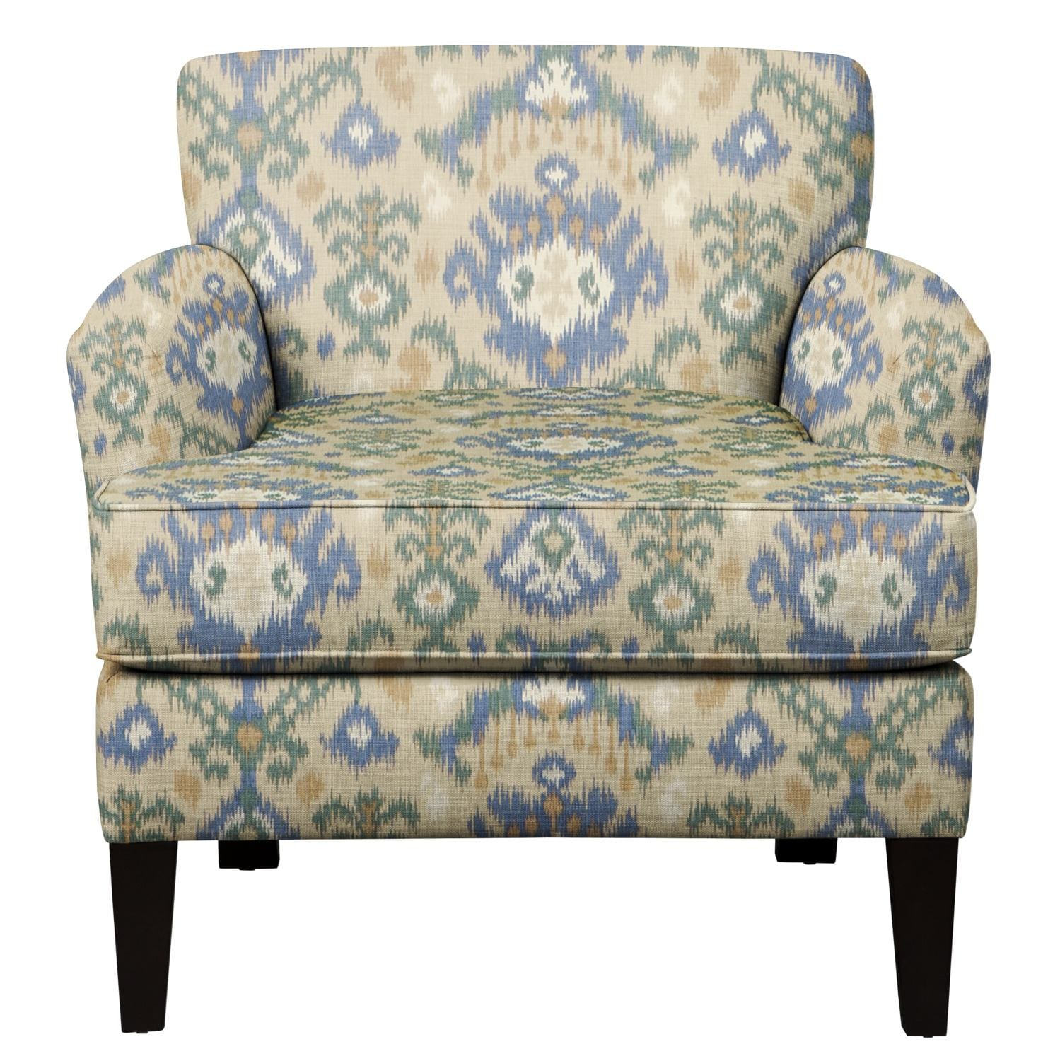 Wondrous Marcus Chair W Blurred Lines Big Sky Fabric Ocoug Best Dining Table And Chair Ideas Images Ocougorg