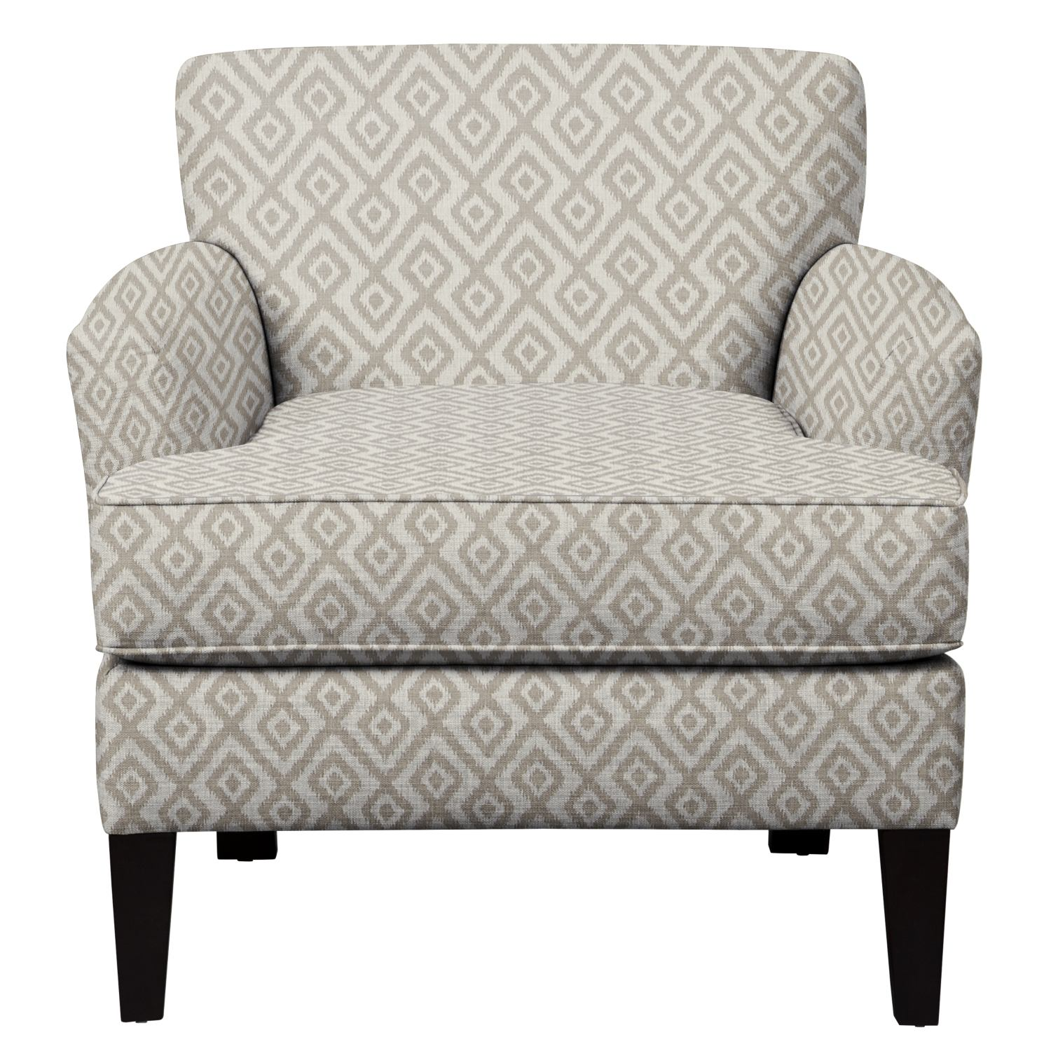 Living Room Furniture - Marcus Chair w/ Tate Dove Fabric