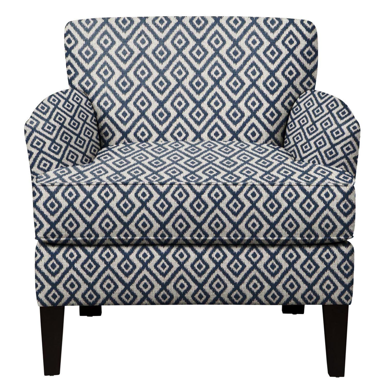 Marcus Chair w/ Tate Indigo Fabric