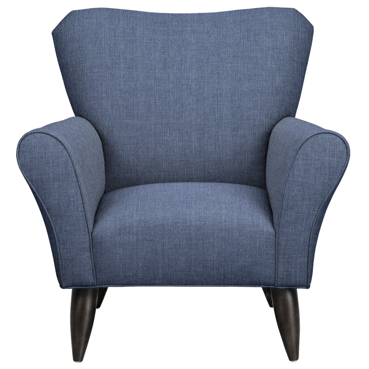 Living Room Furniture - Jessie Chair w/ Depalma Ink Fabric