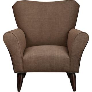 Jessie Chair w/ Oakley III Java Fabric