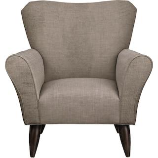 Jessie Chair w/ Oakley III Granite Fabric