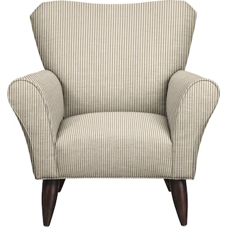 Jessie Chair w/ Polo Linen Fabric