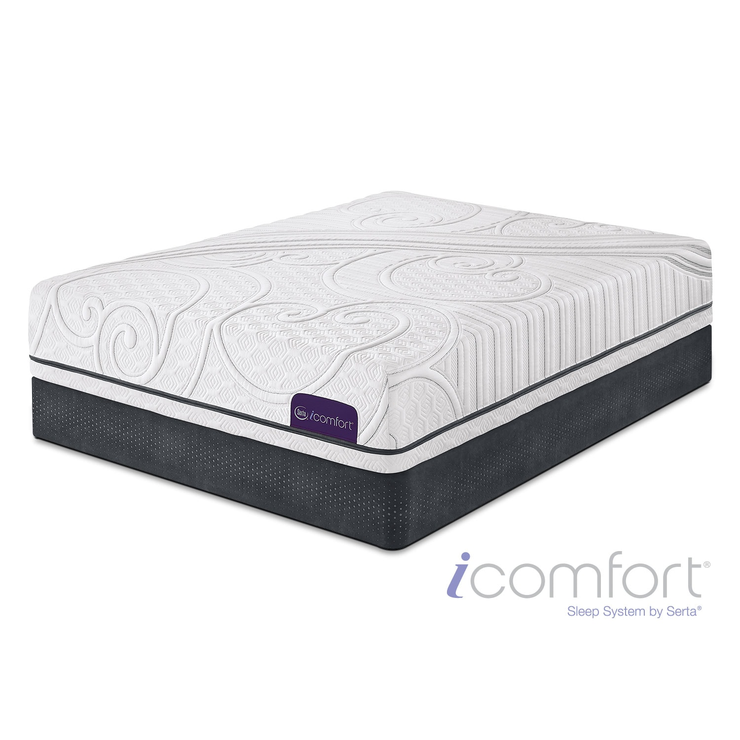 [iComfort Guidance Full Mattress/Foundation Set]