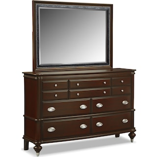 Esquire Dresser and Mirror