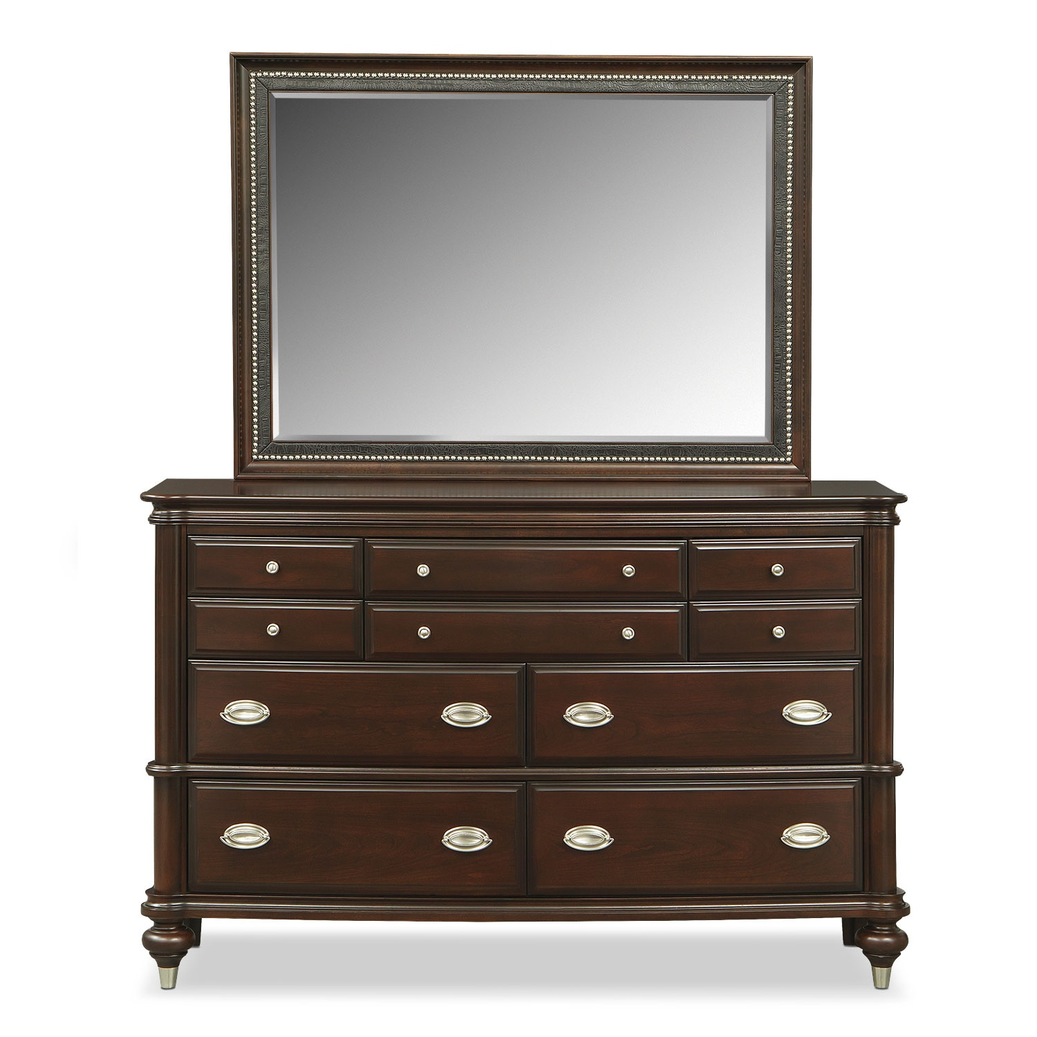 value city furniture dressers esquire dresser and mirror merlot value city furniture 17690