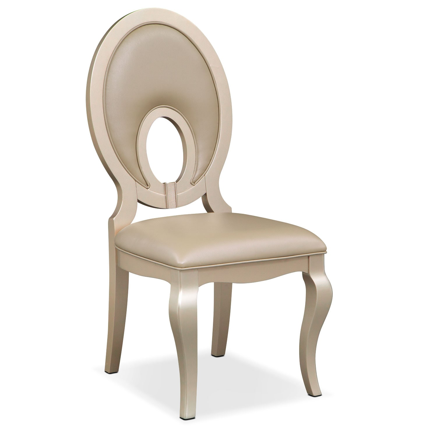 Allegro Side Chair - Platinum