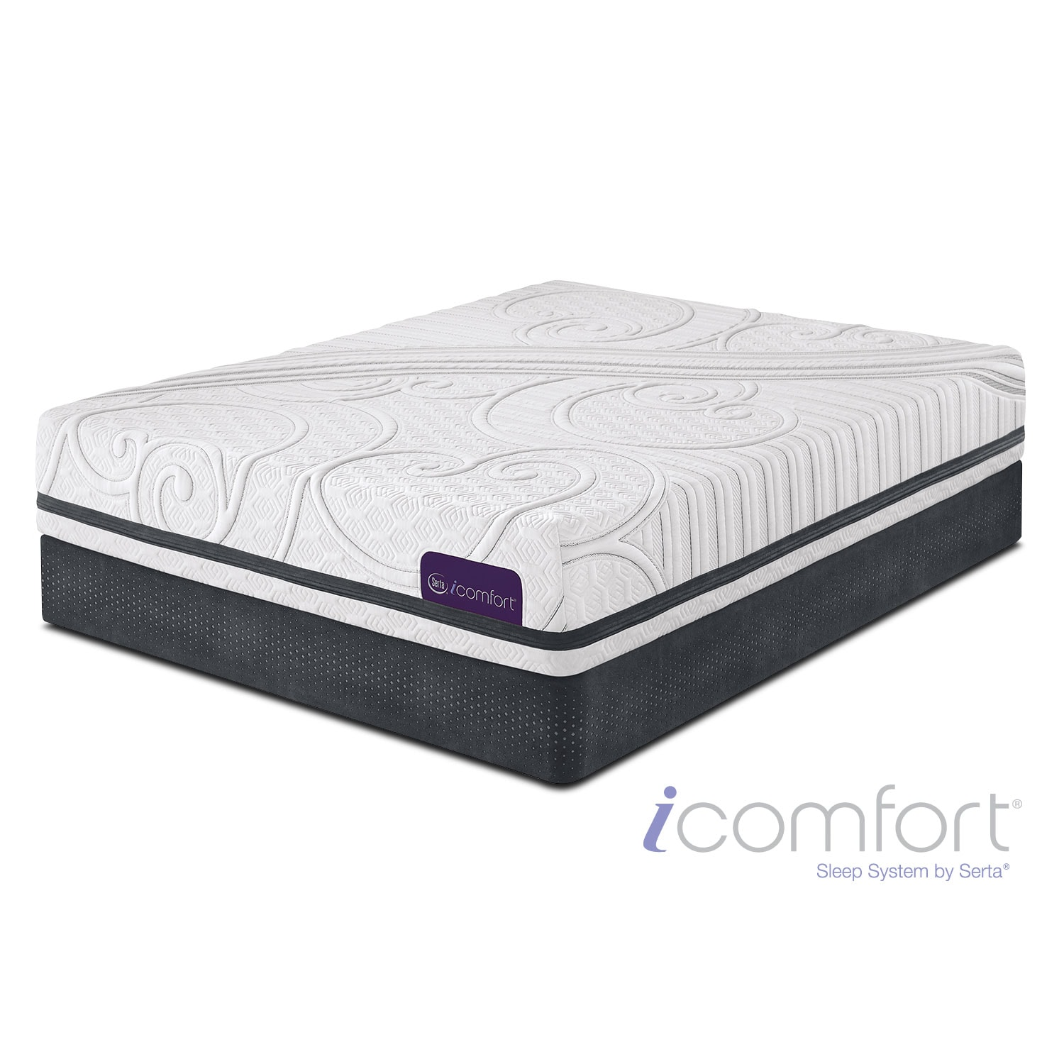 [Savant III Plush Full Mattress/Foundation Set]
