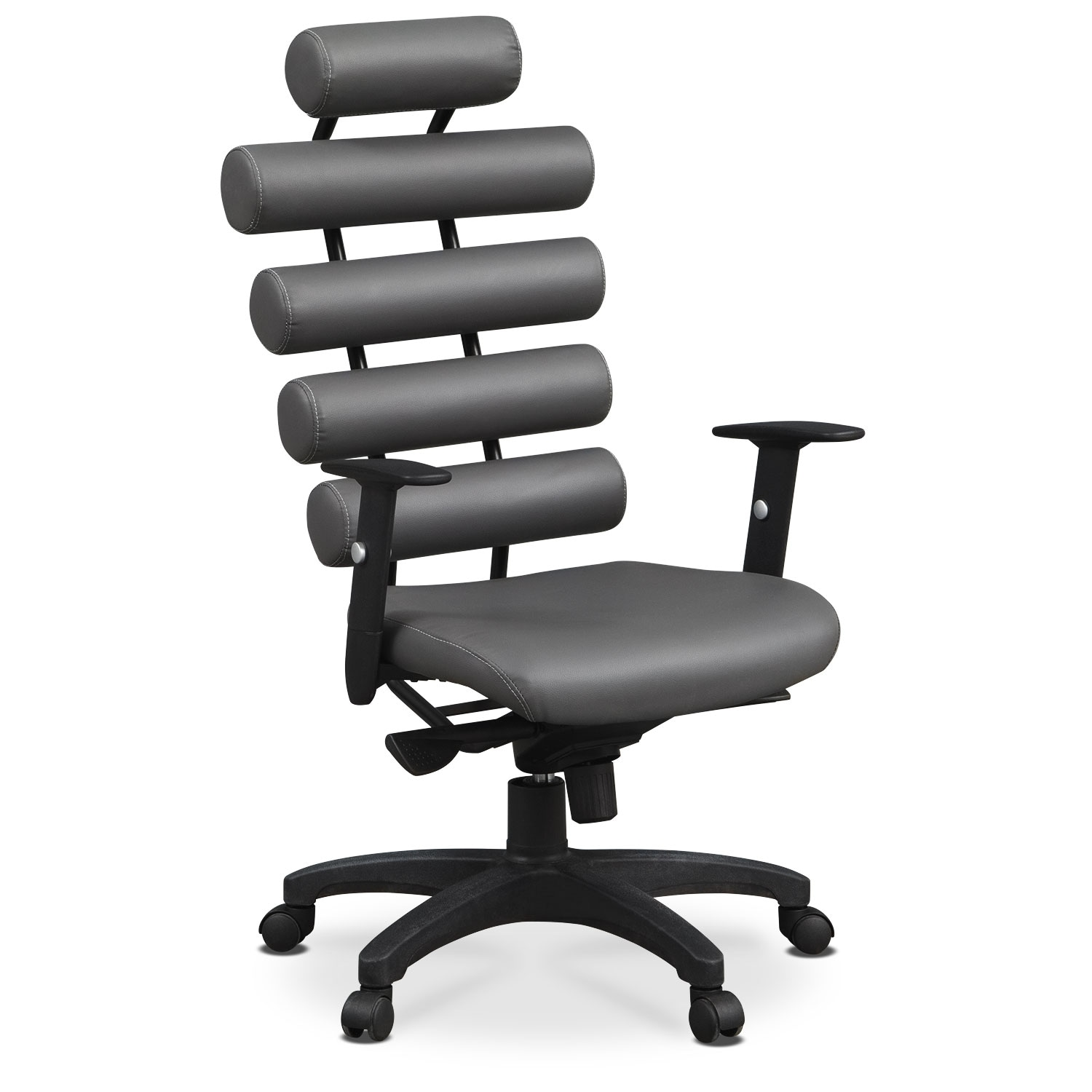 Norton Office Arm Chair - Gray