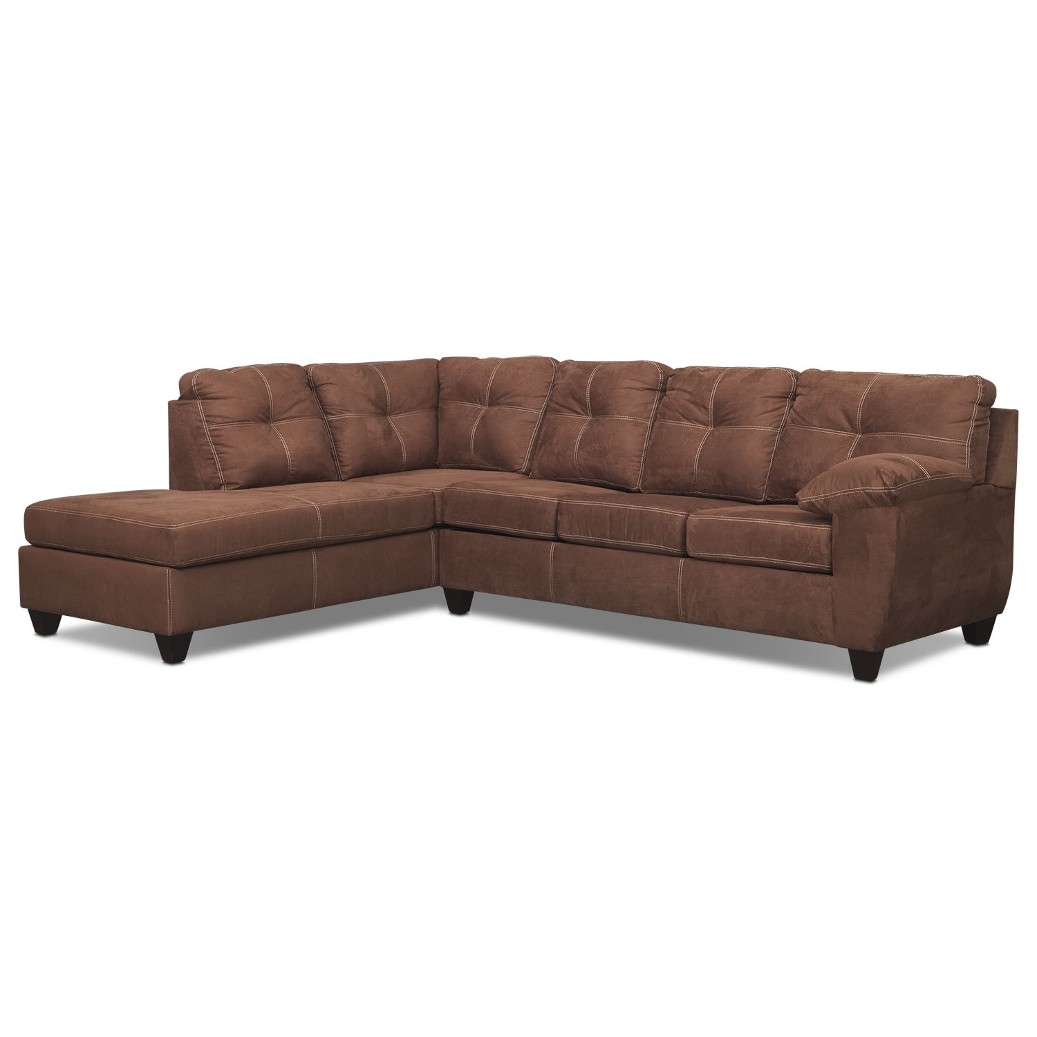 Ricardo 2 Piece Innerspring Sleeper Sectional With Chaise