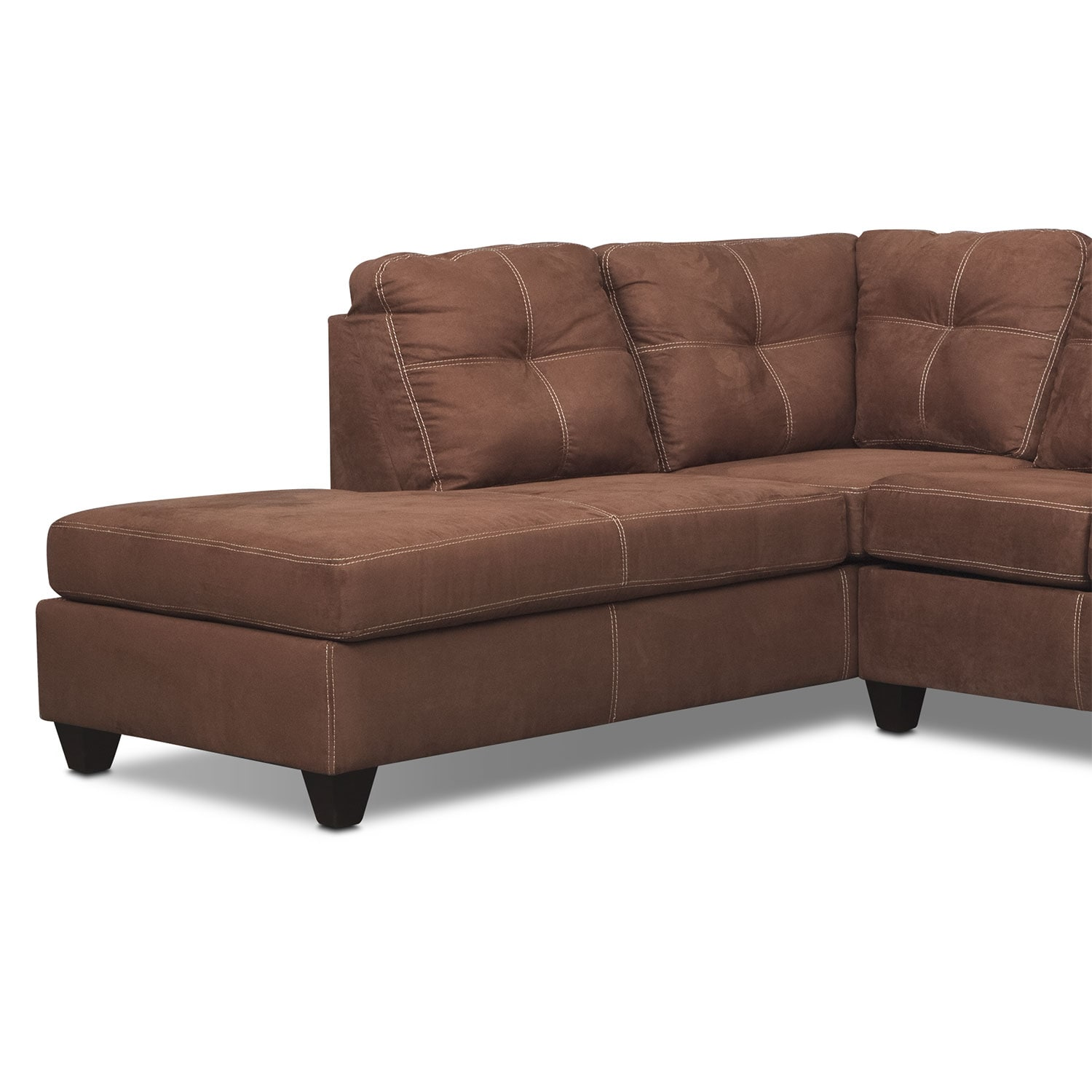 Awesome 2 piece sectional sofa with chaise sectional sofas for 2 piece sectional sofa with chaise