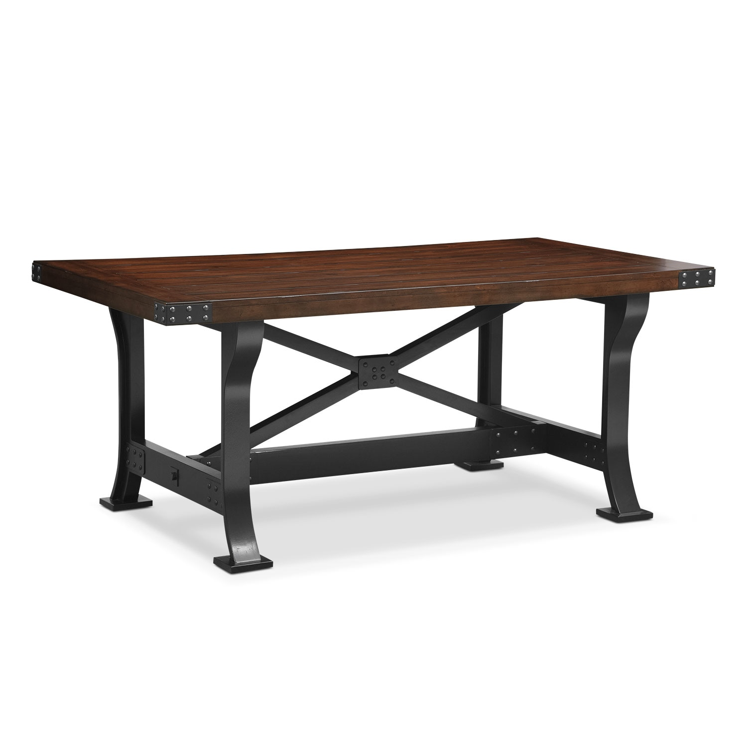 Newcastle Dining Table - Mahogany