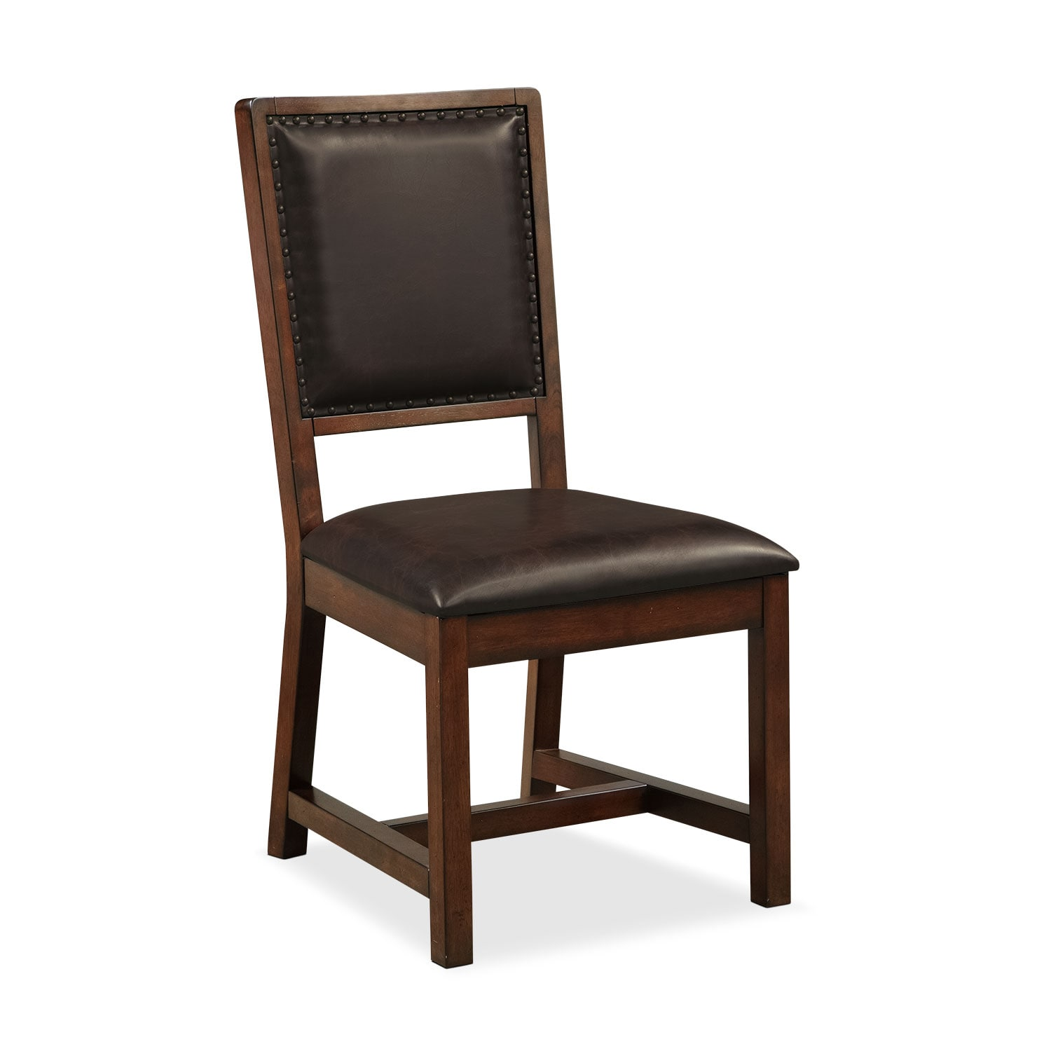 Dining Room Furniture - Newcastle Side Chair - Mahogany