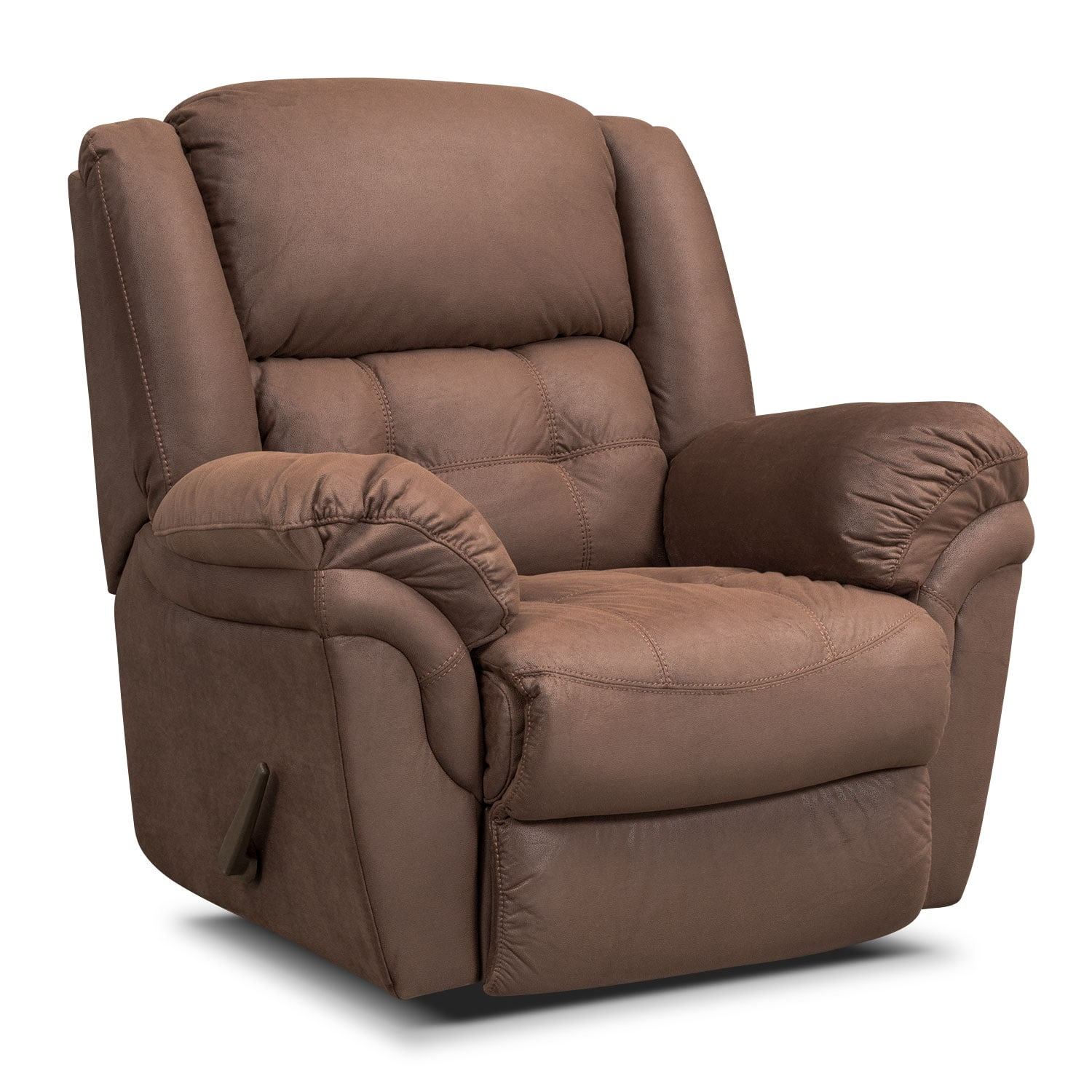 [Lancer Chocolate Glider Recliner]