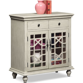 Grenoble Accent Cabinet - Ivory