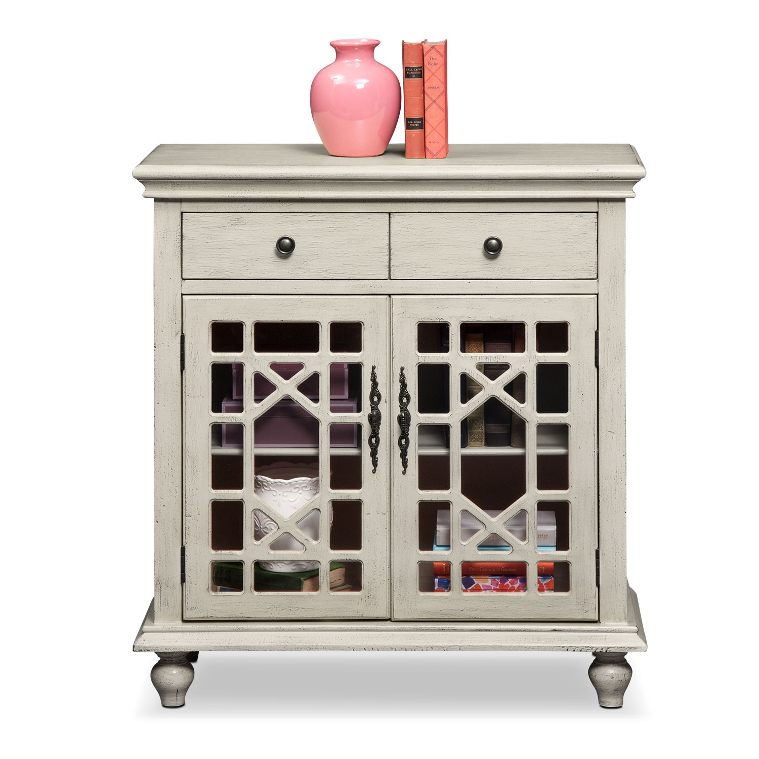 Grenoble Accent Cabinet   Ivory