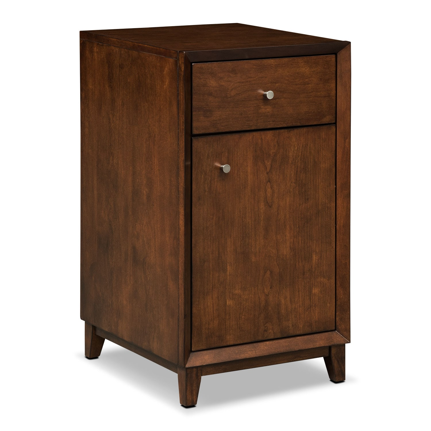 Oslo Door File Cabinet - Cherry