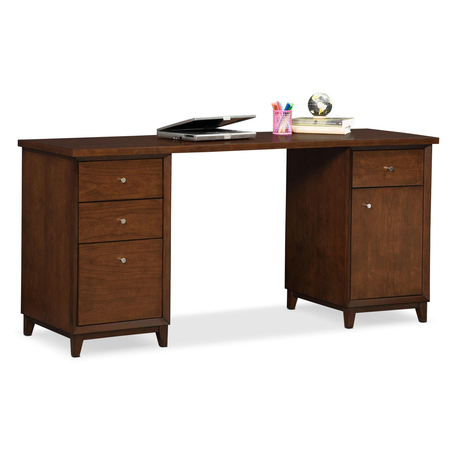 Home Office Furniture - Oslo Cherry Desk
