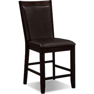 Paragon Counter-Height Chair - Brown