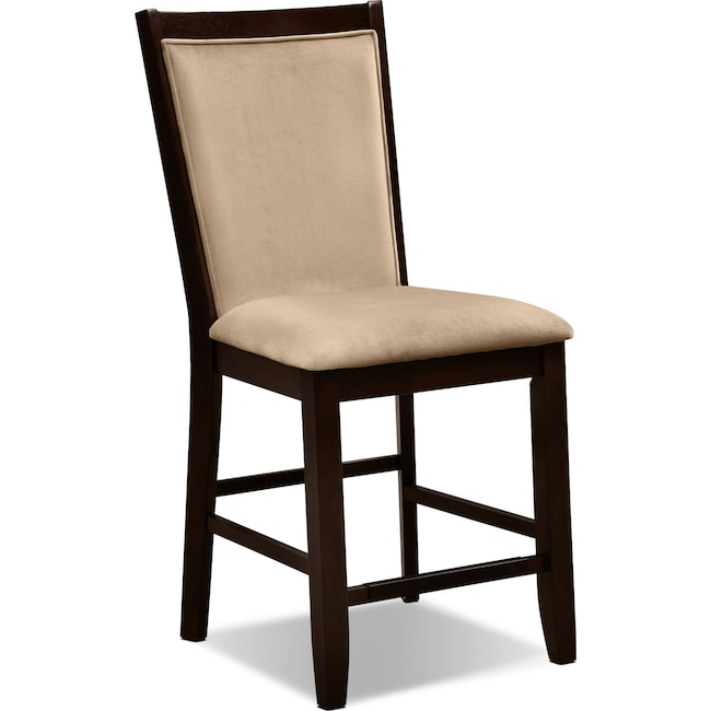 Dining Room Furniture - Paragon Counter-Height Chair - Camel
