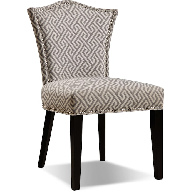 Accent and Occasional Furniture - Bree Side Chair - Taupe