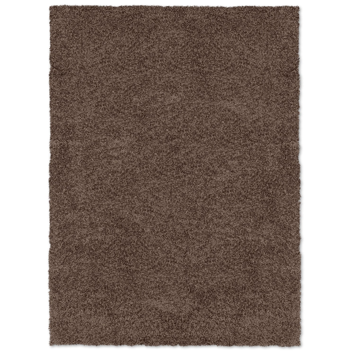 Comfort Chocolate Shag Area Rug (8' x 10')