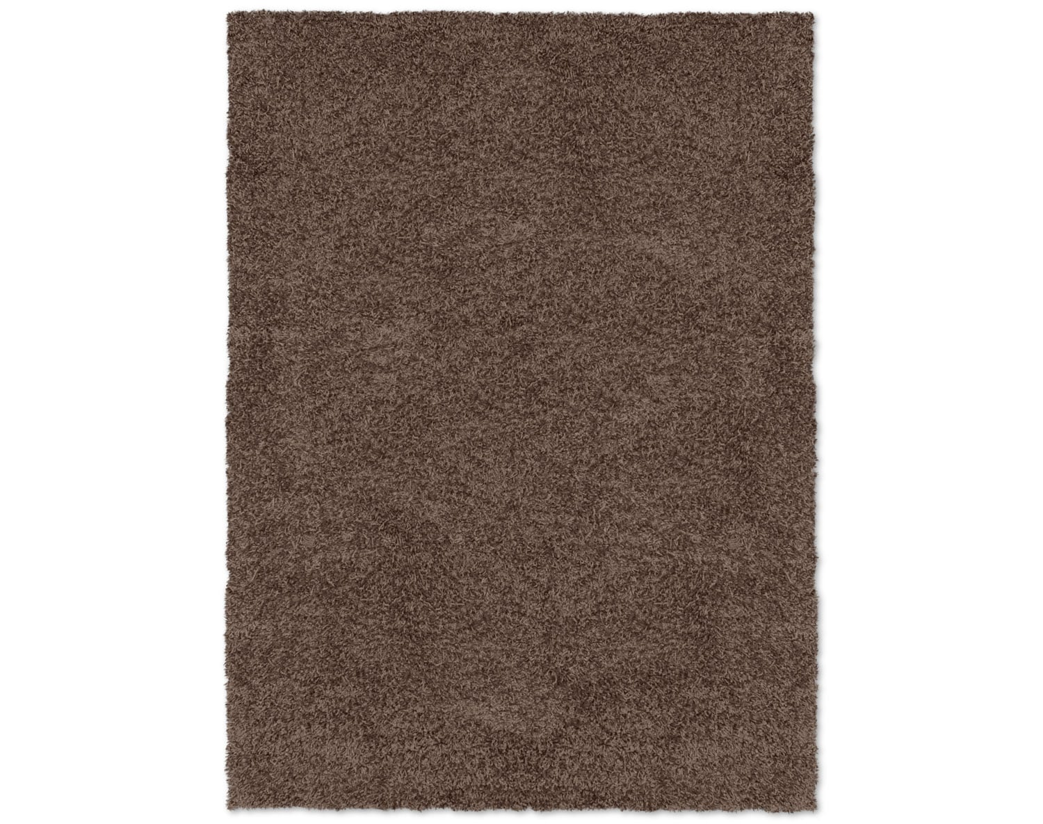 The Comfort Chocolate Shag Rug Collection