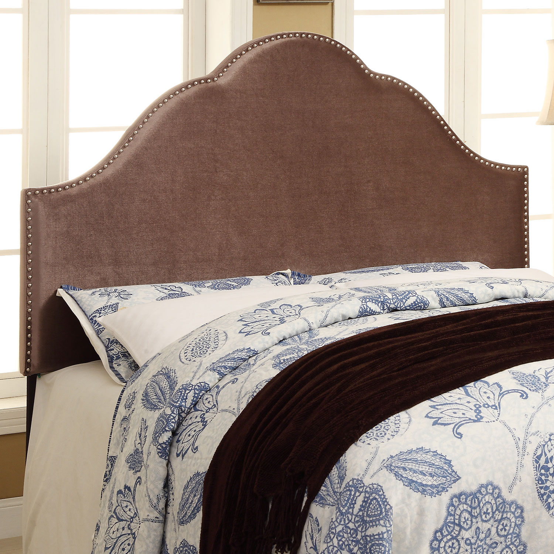 Bedroom Furniture - Delaney King Headboard - Chrome