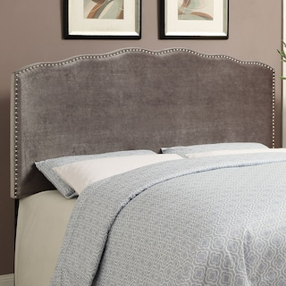 Layla Queen Headboard - Platinum