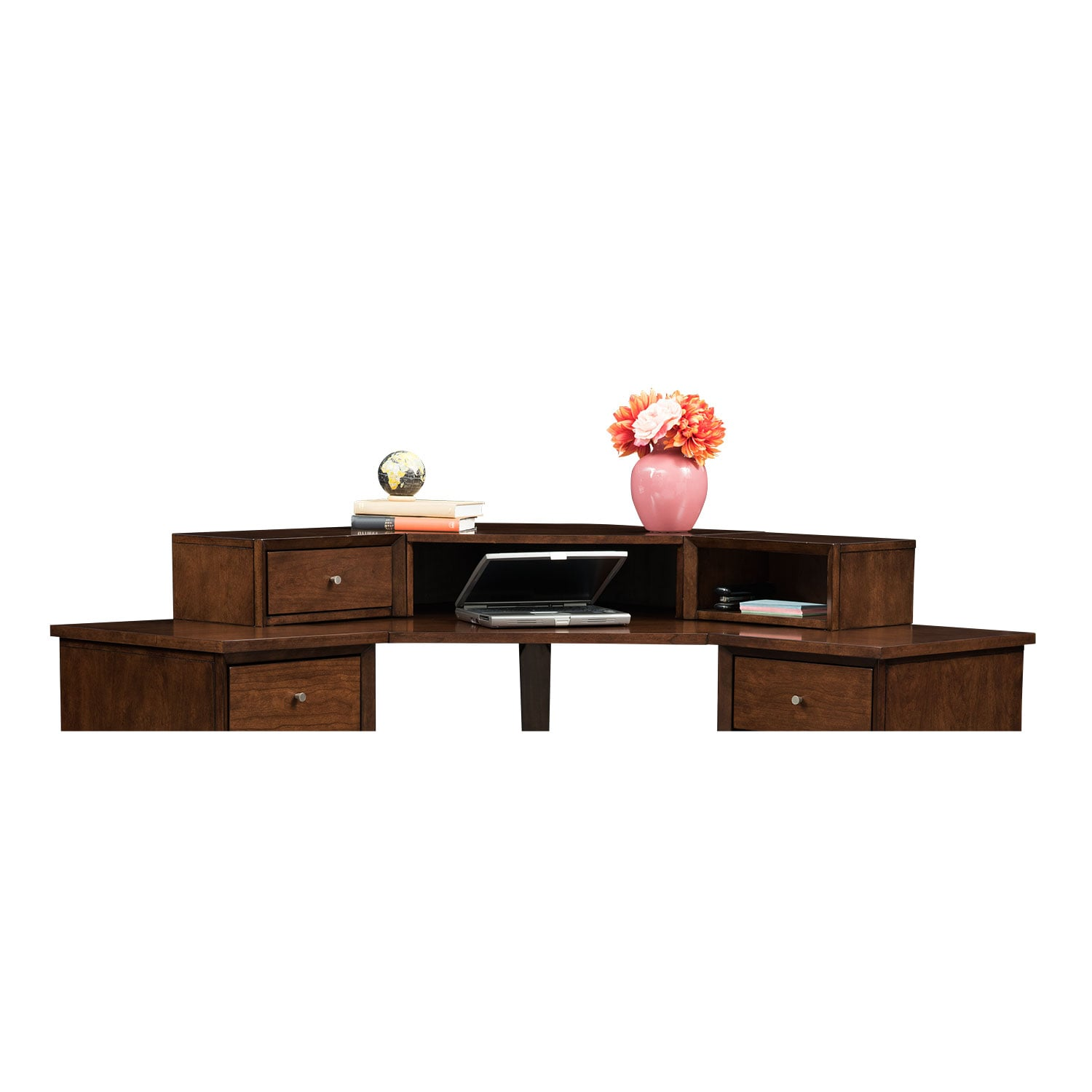Oslo Cherry Corner Hutch