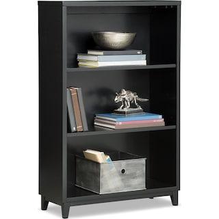 """Oslo 46"""" Bookcase - Black"""