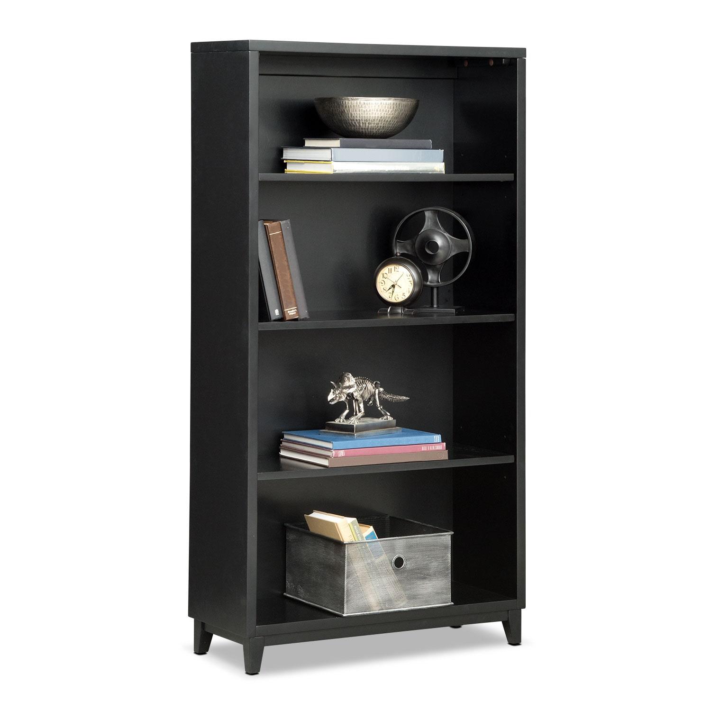 """Oslo 58"""" Bookcase - Black"""