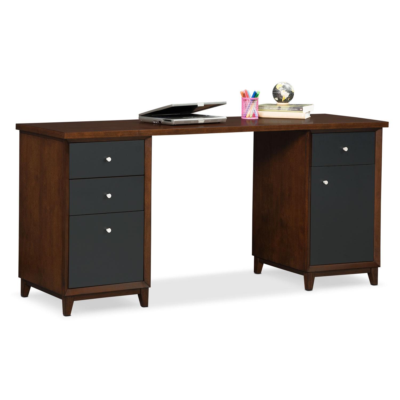 Home Office Furniture - Oslo Desk - Black