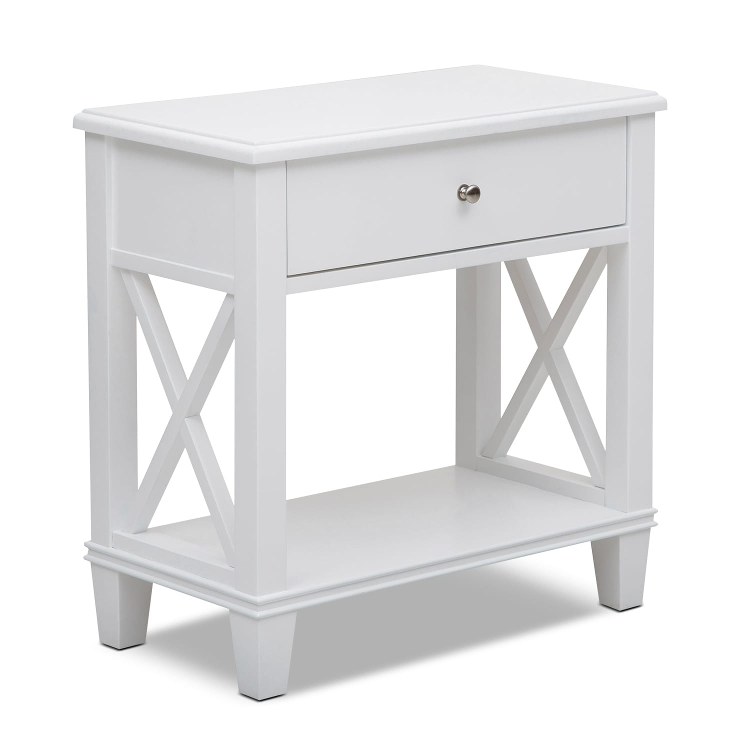 Liat Accent Table   White