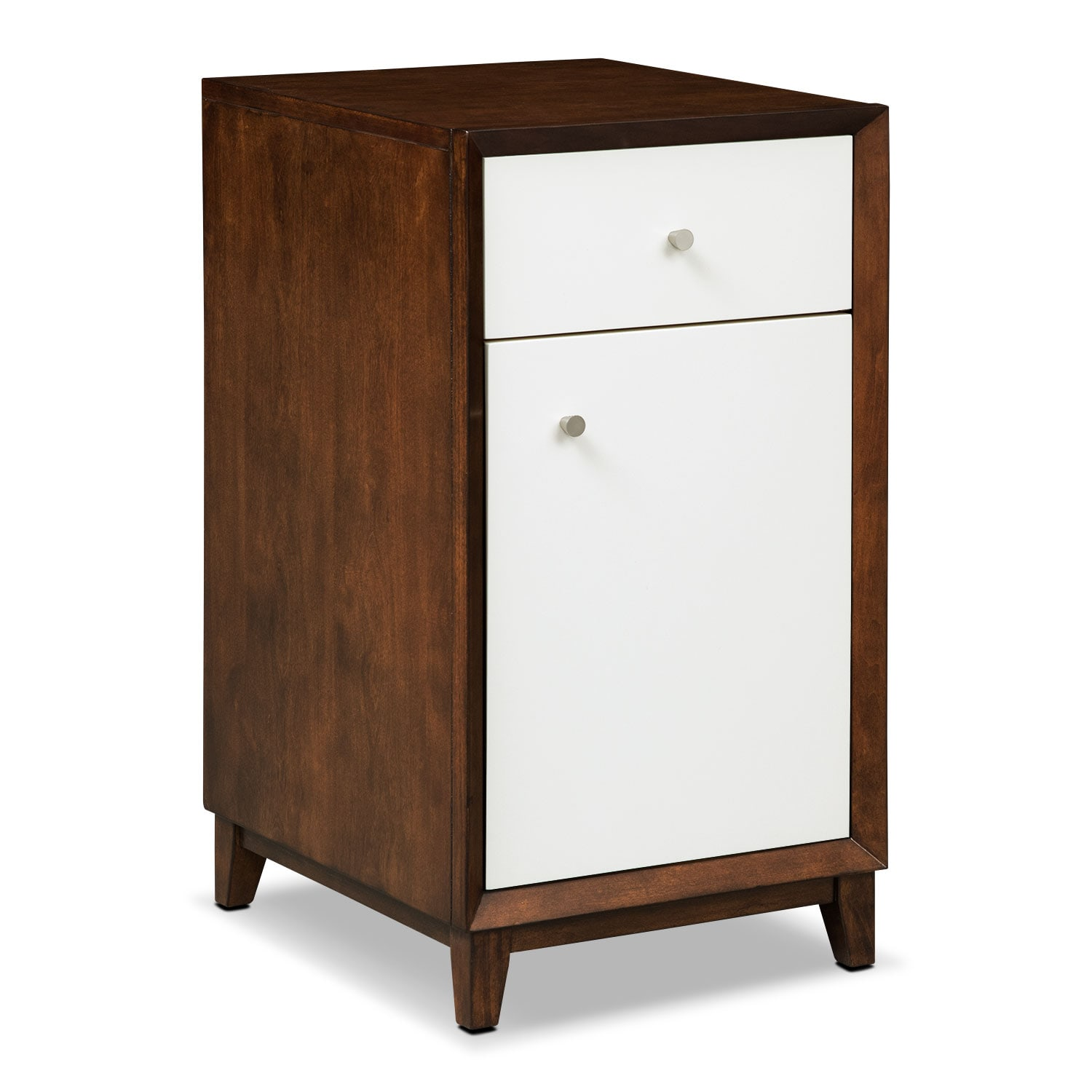 Oslo Door File Cabinet - White