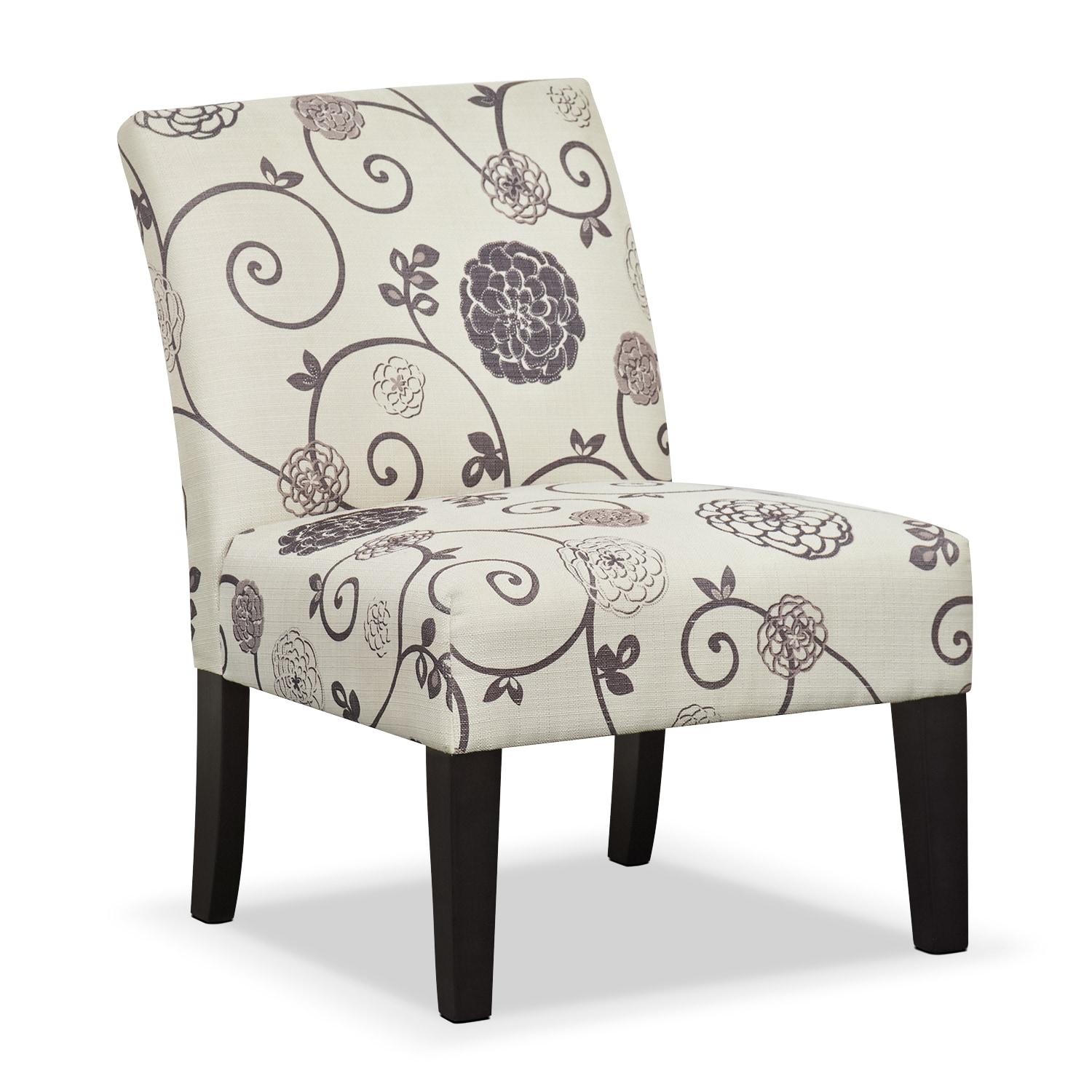 wylie upholstered side chair floral - Decorative Chairs