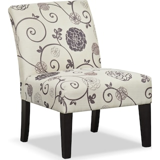 Wylie Upholstered Side Chair - Floral