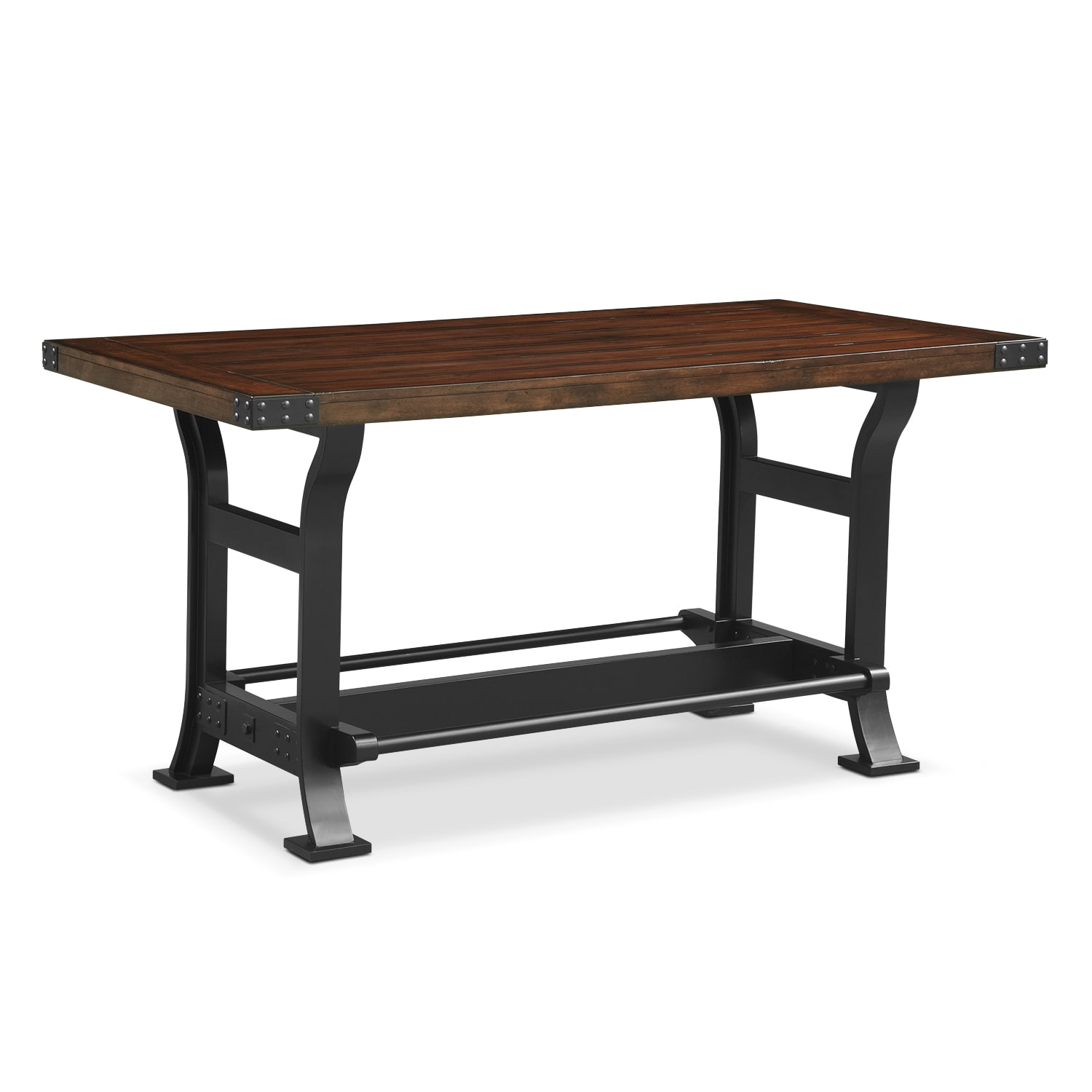 newcastle counter height dining table mahogany value
