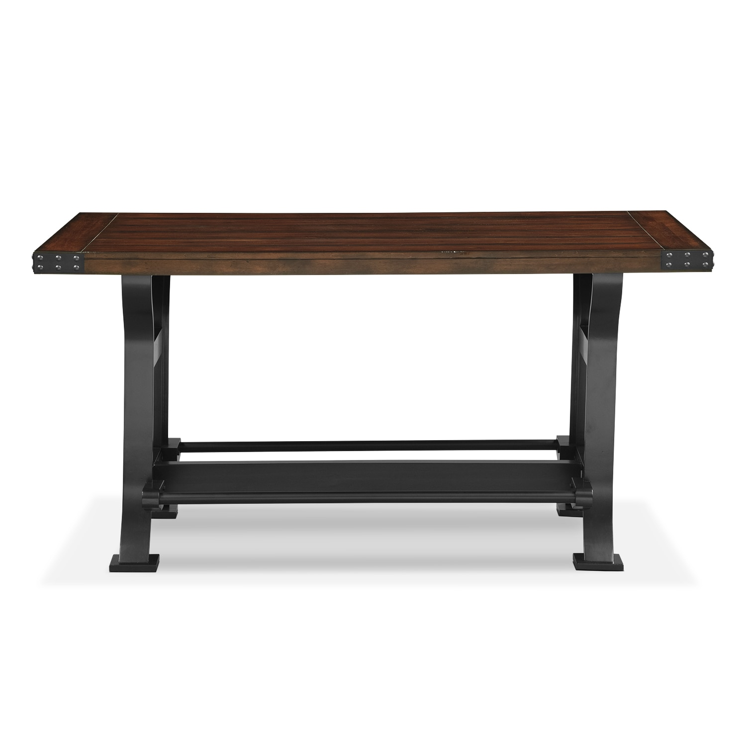 Newcastle CounterHeight Dining Table Mahogany Value City